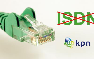 KPN kondigt beëindiging ISDN aan