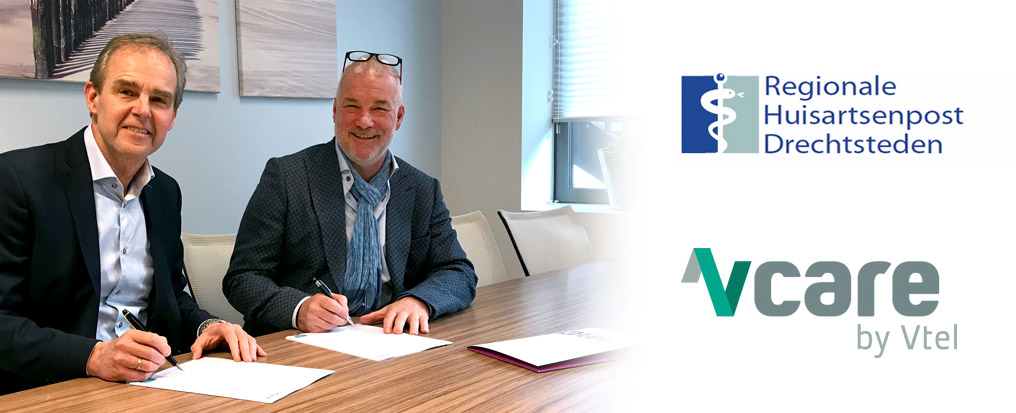 Regionale Huisartsenpost Drechtsteden kiest voor optimale en veilige bereikbaarheid met Vcare by Vtel.