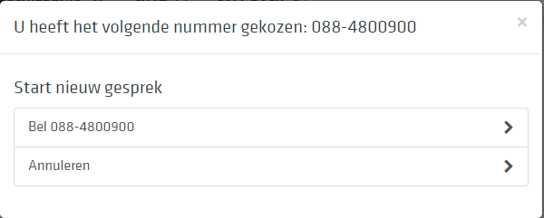 eenvoudig direct bellen via een webpagina